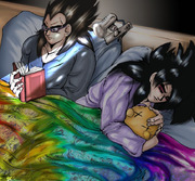 SSJ4 Bedfellows
