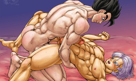 "Dragon Ball Z Kai's Gay Kamasutra : ""The Reed"""