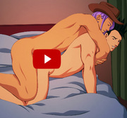 DBZ Yaoi Flash Animation : Brokeback Bedroom