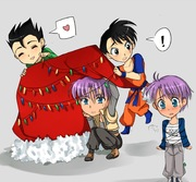 Chibi Truhan Celebrating Chritsmas