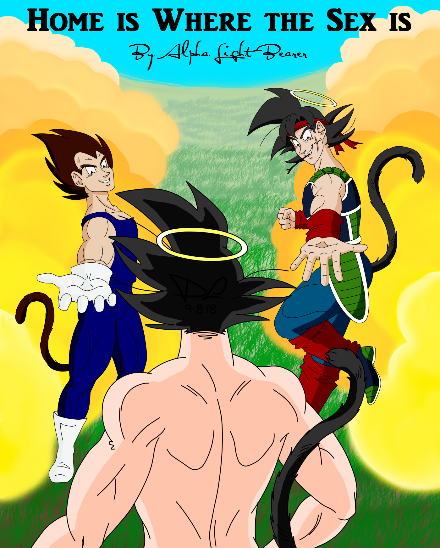 Home Is Where The Sex Is - Boxer  Rice Dbz Fanfic, Art -2126