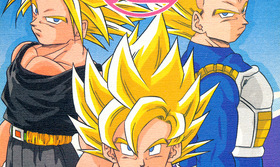 Saiyan with the Super Mark #12
